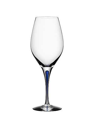Orrefors Intermezzo Blue Wine, Single
