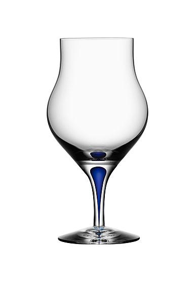 Orrefors Intermezzo Blue Brandy Snifter, Single