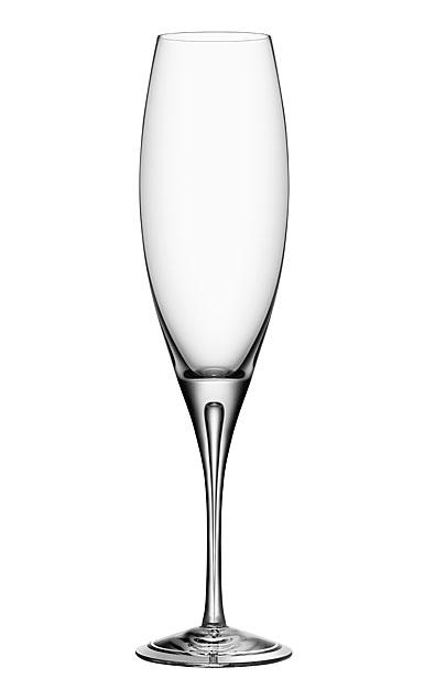 Orrefors Intermezzo Air Champagne Flute, Single