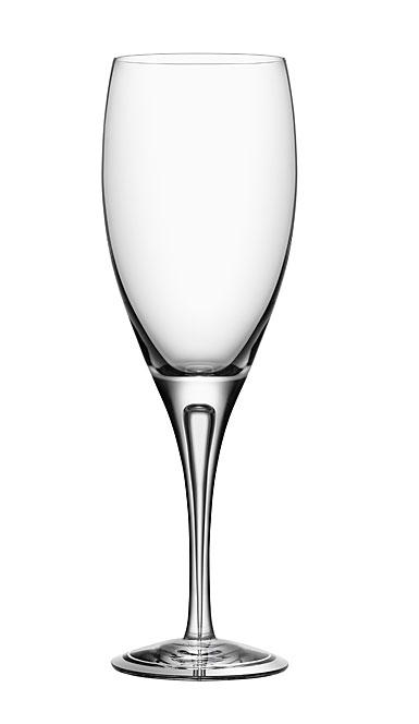 Orrefors Intermezzo Air White Wine Glass, Single