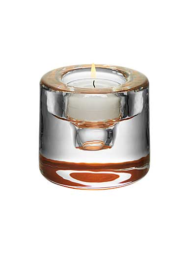 Orrefors Shine Votive, Copper