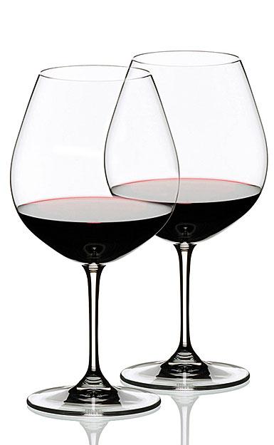 Riedel Vinum Burgundy Pinot Noir, Pair
