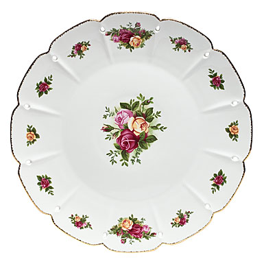 Royal Albert Old Country Roses Pierced Round Platter