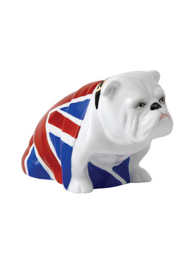 Royal Doulton British Bulldog Jack, from Skyfall, James Bond