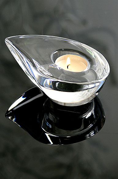 Orrefors Drop Votive