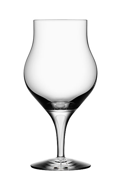 Orrefors Intermezzo Satin Brandy Snifter Glass, Single