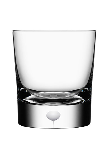 Orrefors Intermezzo Satin Old Fashioned Glass, Single