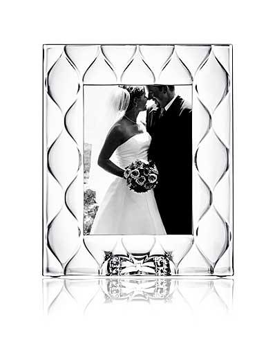 "Orrefors Diamond 5x7"" Picture Frame"