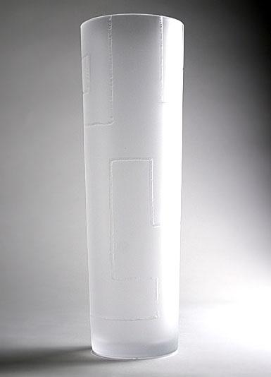 Orrefors Tatlin Cylinder Vase