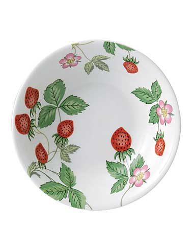 Wedgwood China Wild Strawberry Nurseryware Oatmeal Bowl