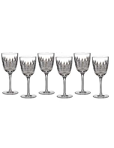 Waterford Lismore Diamond Goblet, Boxed Set 5+1 Free