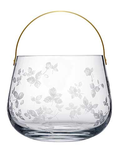 Wedgwood Wild Strawberry Al Fresco Glass Ice Bucket Limited Edition