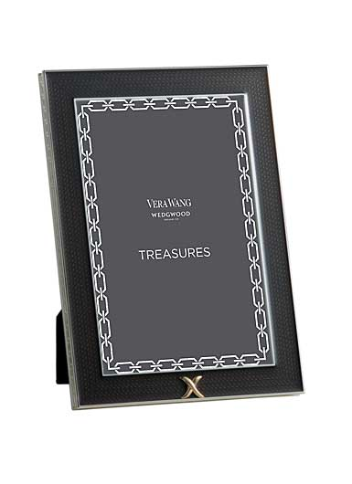 Vera Wang Wedgwood Treasures With Love Noir x Treasure 4x6 Frame