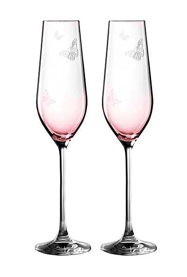 Miranda Kerr for Royal Albert Pink Flute, Pair