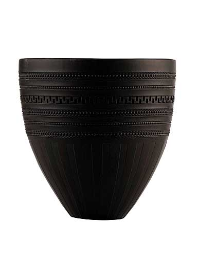 Wedgwood Iconic Black Jasper Vase, Limited Edition