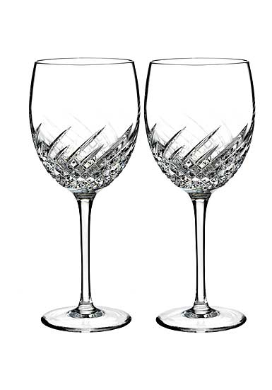 Waterford Essentially Wave Goblet, Pair