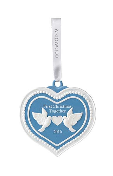 Wedgwood 2016 Our First Christmas Ornament