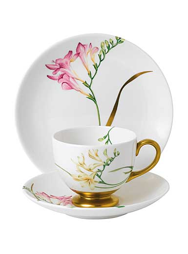 Wedgwood Floral Eden 3-Piece Set, Freesia