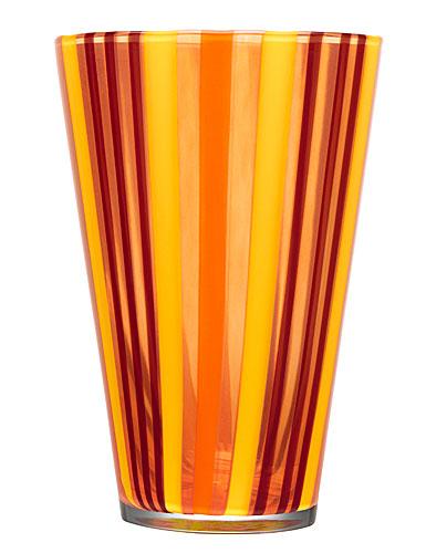 Kosta Boda Cabana Vase, Orange