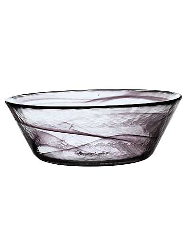 Kosta Boda Mine Extra Large Bowl, Black