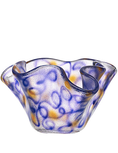 Kosta Boda Happy Going Small Bowl, Blue