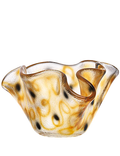 Kosta Boda Happy Going Small Bowl, Orange
