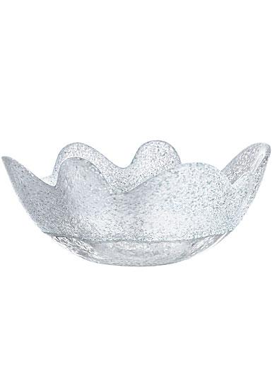 Kosta Boda Organix Medium Bowl, Frosty White