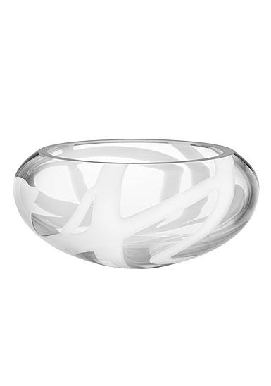 Kosta Boda White Globe Bowl