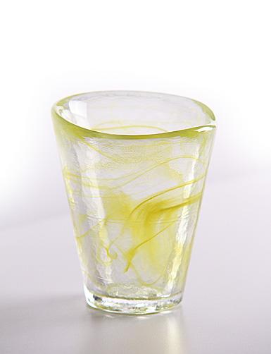 Kosta Boda Mine Tumbler, Yellow