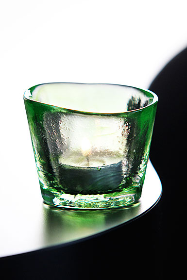 Kosta Boda Mine Votive, Lime