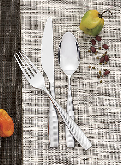 Nambe Metal Flatware Fiona 5 Piece Place Setting