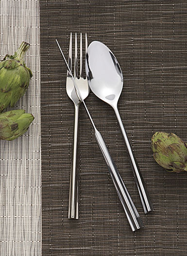 Nambe Metal Flatware Emily 5 Piece Place Setting