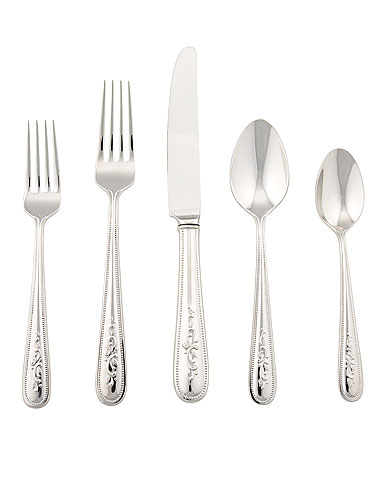 Lenox Opal Innocence Flatware, 5 Piece Place Setting