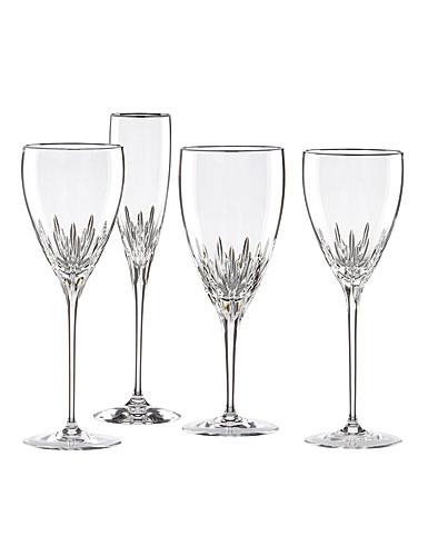 Lenox firelight platinum signature crystal stemware - Lenox colored wine glasses ...