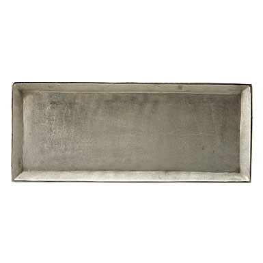 Donna Karan Lenox Burnished Metal, Rectangular Tray