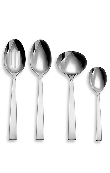 Lenox China Donna Karan Ascend Flatware, 4 Piece Hostess Set