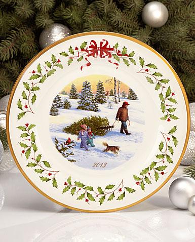 Lenox Holiday Christmas Plate