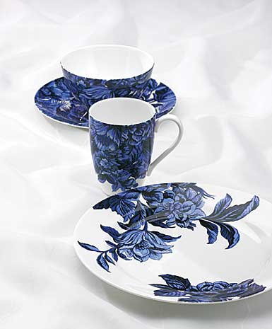 Lenox China Marchesa Couture Midnight Blue 4 Piece Place