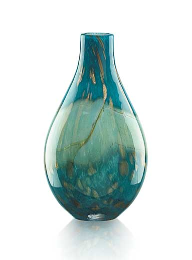 "Lenox Seaview 14"" Horizion Bottle Vase"