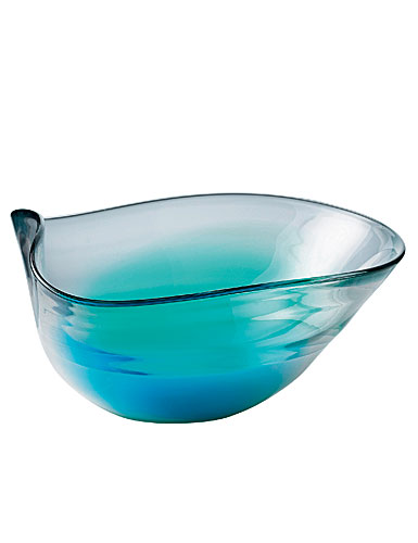 Royal Doulton 1815 Colored Glass Giftware - Shallow Bowl