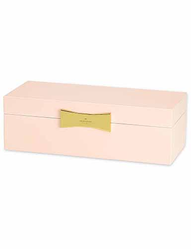 Lenox kate spade Outpost Gifting Lg Rect Jewelry Box, Pink