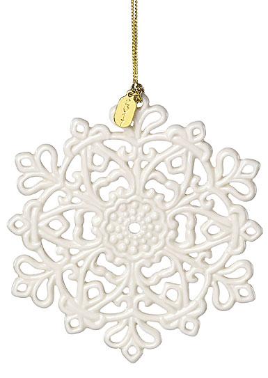 Lenox Annual 2017 Snow Fantasies Snowflake Ornament