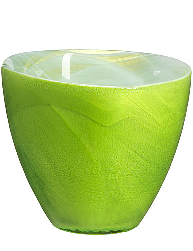 Sea Glasbruk Candy Votive, Green