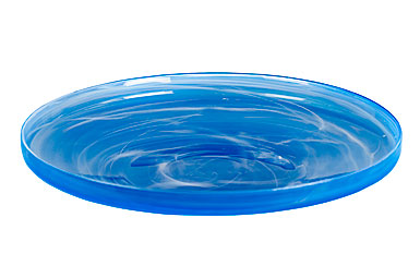Sea Glasbruk Sweet Dish Large Bachelor Buttons