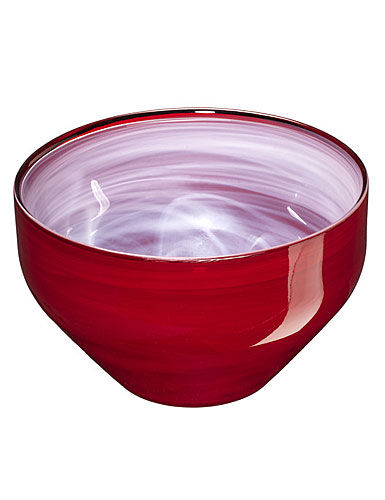 Sea Glasbruk Sweet Small Bowl, Red
