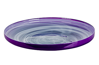 Sea Glasbruk Sweet Large Dish, Orchid