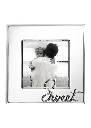 "Lenox Kate Spade In A Word Sweet 3x3"" Frame"
