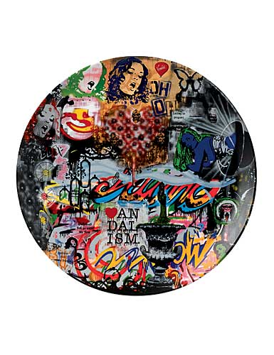 Royal Doulton Street Art Nick Walker Plate Collage Limited Edition