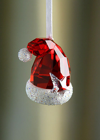 Swarovski Santa S Hat Ornament