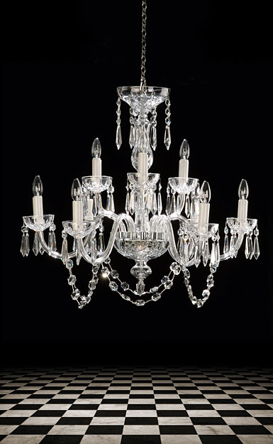 Waterford Lismore Nine Arm Chandelier